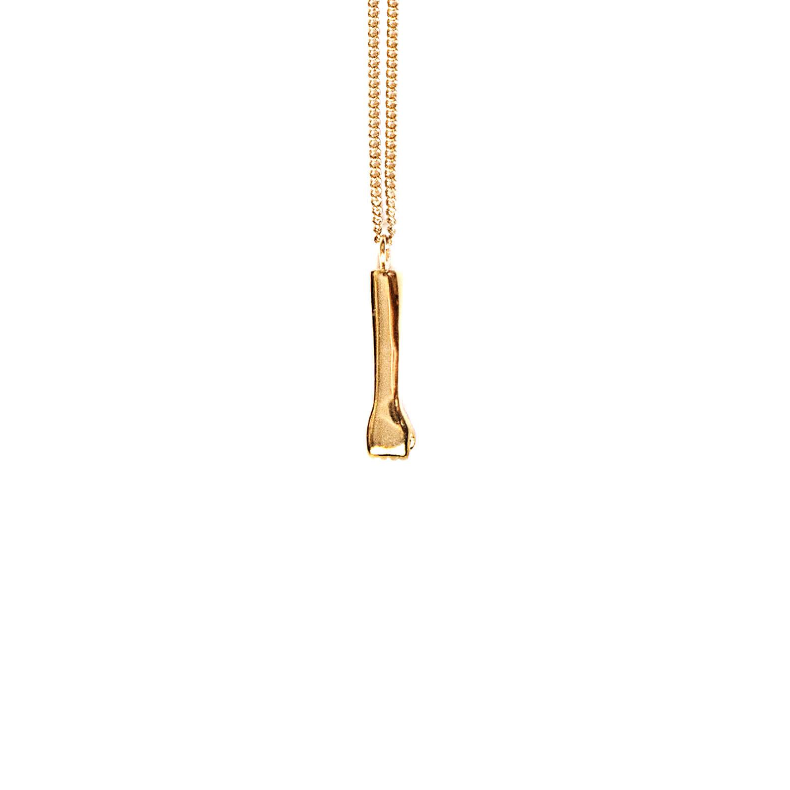 The rock pendant gold glenda lpez jewelry design the rock pendant gold by glenda lopez frontal aloadofball Gallery
