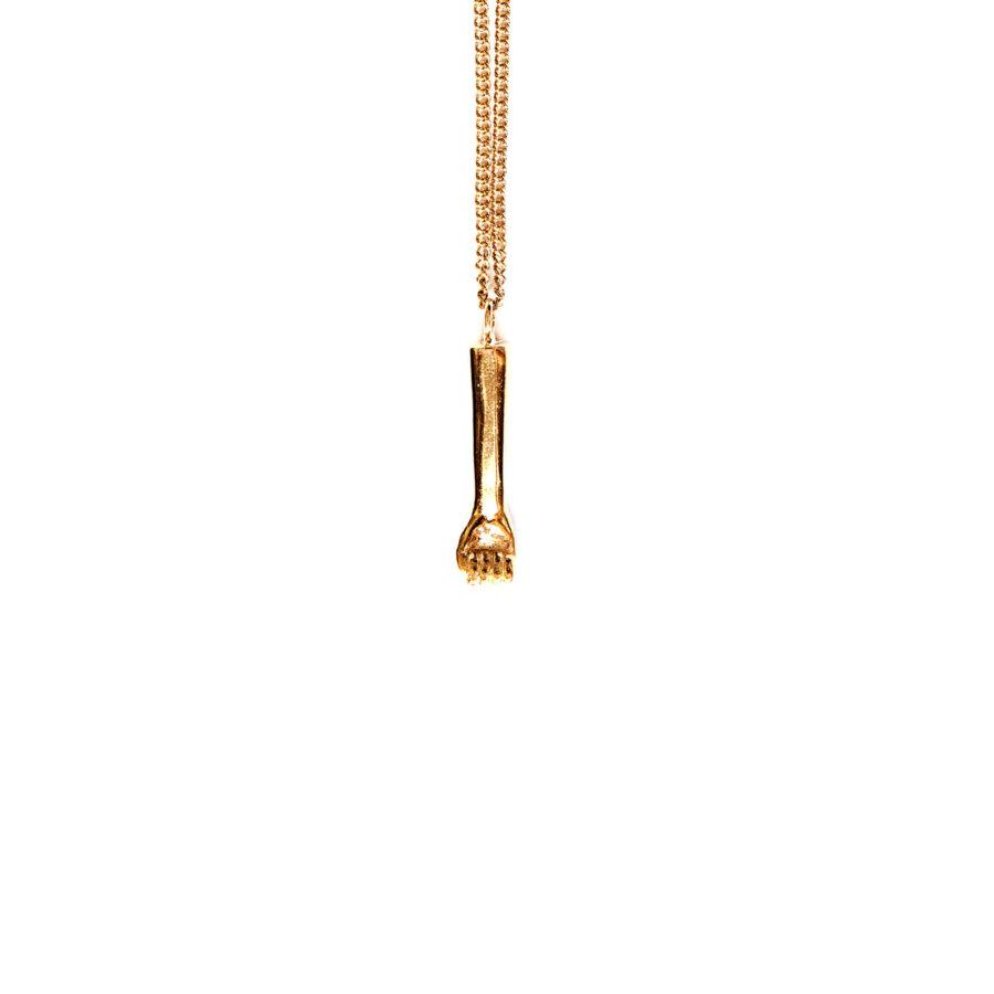 The-rock-pendant-gold-by-glenda-lopez-back