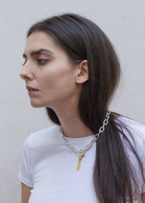 the-small-silver-links-necklace-by-glenda-lopez-lookbook